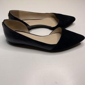 Cole Haan Amalia D'Orsay Skimmer Heels in Black